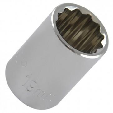 Soquete Estriado 19 mm com Encaixe de 1/2 Pol. BELZER-204010BBR