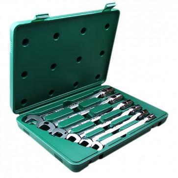 Jogo de Chaves Combinadas em Milímetros com Soquete Flexível com 6 Peças SATA-ST09037SJ