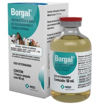 Borgal 50 mL - MSD Saúde Animal