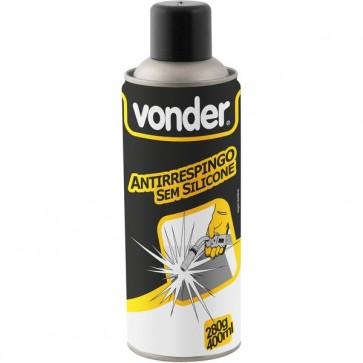 Spray Anti Respingo Sem Silicone 280g 400ml -Vonder-7430028400