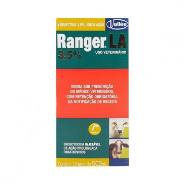 Ranger La Ivermectina 3,5%  500 mL - Vallee