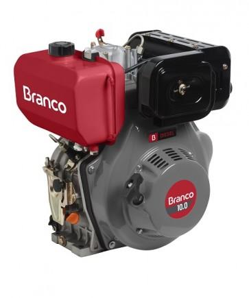 MOTOR BD 10.0 EIXO H c/Part. Eletr. - Branco Motores 90311901