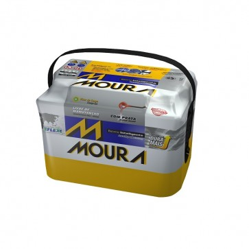 Bateria Automotiva 48Ah M48FD Polo Positivo Direito - Moura
