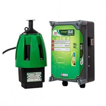Bomba Solar Com Drive E Sem Módulo Solar - Anauger P100