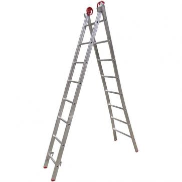 Escada Extensível de Alumínio 8 Degraus - Real Escadas