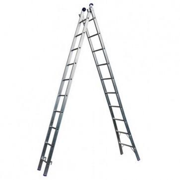 Escada Extensível de Alumínio 10 Degraus - Real Escadas