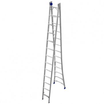 Escada Extensível de Alumínio 13 Degraus - Real Escadas