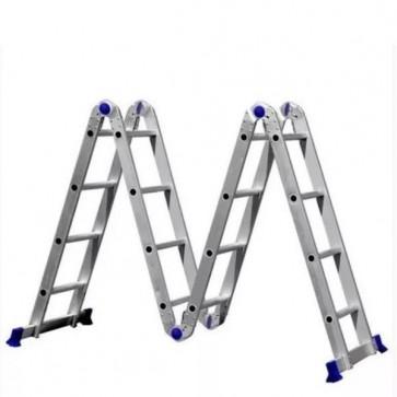 Escada Articulada de Alumínio 4x4 - Real Escadas