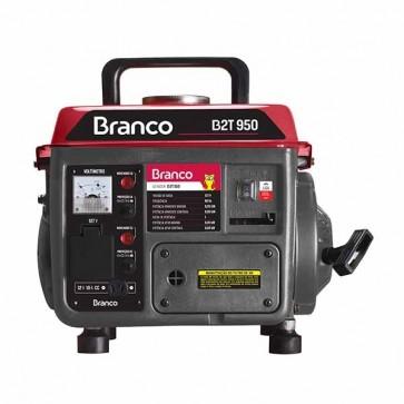Gerador de Energia a Gasolina 950W 0,95KVA B2T 950 110V - Branco 90304060