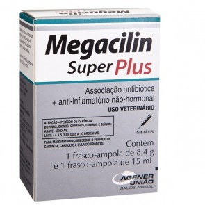 Megacilin Super Plus 15 mL Agener União