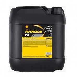 Oleo Rimula RT4 X 15W40 Shell FR 20 Litros