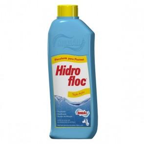 Floculante Clarificante Hidrofloc Hidroall - 1 Litro