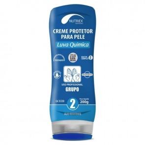 Creme De Proteção Luva Química Grupo 2 200g Nutriex