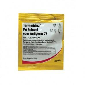 Terramicina® Pó Solúvel Com Antigerm 77 100 gramas - Zoetis