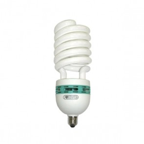 Lâmpada Fluorescente Espiral Alta Potência 46W 110V Base E27-  FoxLux EB46.1