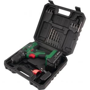 """Furadeira Parafusadeira 3/8"""" a Bateria 12V Bivolt com Kit - DWT PFD012"""
