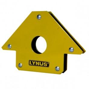 Esquadro Magnético 35Kg para Soldador - Lynus EML-35