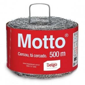 Arame Farpado Motto 500 Metros Belgo