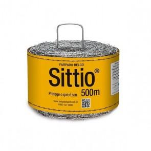 Arame Farpado 500 metros 1,6 mm - Belgo Sittio