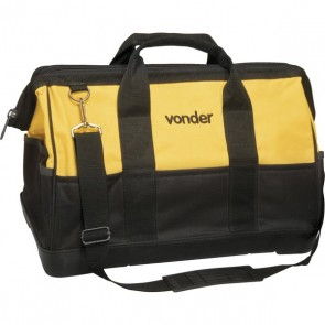 Bolsa de lona 400 x 200 x 300 mm com 22 bolsos Vonder