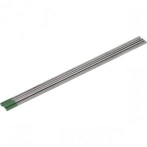 Eletrodo de Tungstênio ponta verde puro 2,4 mm AWS EWP Vonder - 10 unidades