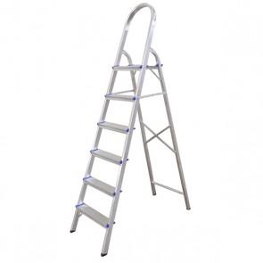 Escada Doméstica de Alumínio 6 Degraus - Real Escadas