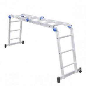 Escada Articulada 3x4 Alumínio - Real Escadas