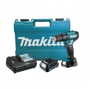 Furadeira e Parafusadeira de Impacto 12V Bivolt com 2 Baterias Carregador e Maleta - Makita HP333DWYE