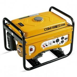 Gerador de Energia à Gasolina 4 KVA 4 Tempos Partida Elétrica Bivolt 110/220V GM3500 CSM
