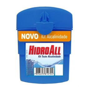 Kit Teste Alcalinidade - HidroAll 1070