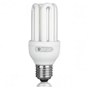 Lâmpada Fluorescente Compacta Luz Branca Tipo U 15W 220V – Foxlux UB15.2