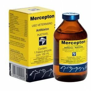 Mercepton 100 mL Anti-Toxico Injetavel - Bravet