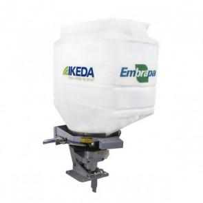 Semeadora e Adubadora 100 Litros MS100 CR - IKEDA