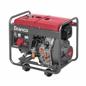 Gerador à Diesel 8KVA 220V BD-8000 E3 G2 Trifásico - Branco 90314103