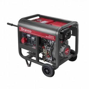 Gerador de Energia à Diesel BD 6500 5,0KVA 10CV Trifásico 220V com Partida Elétrrica - Branco 90313703