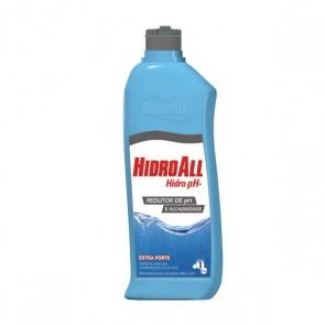 Redutor de PH e Alcalinidade Extra Forte Hidro PH- Hidroall 1 Litro