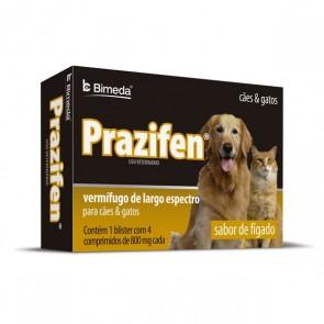 Prazifen 4 Comprimidos Bimeda