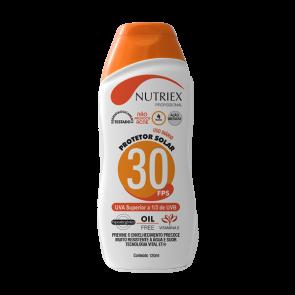 Protetor Solar Profissional FPS 30 1/3 UVA 120 ml - Nutriex