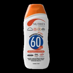 Protetor Solar Profissional FPS 60 1/3 UVA 120 ml - Nutriex