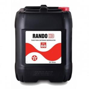Óleo Hidráulico Texaco Rando HD 68 - 20 Litros
