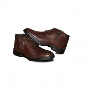 Sapato Masculino em Couro Personalizado Coopercitrus - Spessoto SP230 Brown-42