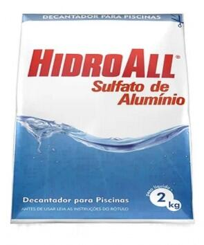 Sulfato de Alumínio 2Kg - HidroAll