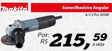 Esmerilhadeira Angular 4-1/2 Pol. 850W - MAKITA M9510G