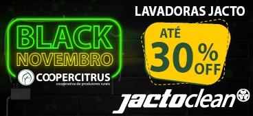 Black Novembro! Lavadoras Jacto com até 30% de desconto!