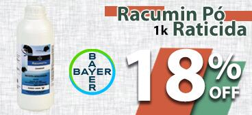 Racumin Pó Raticida 1 Kg BAYER 18% OFF.