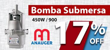 Bomba Submersa 450W - Anauger 900. 17% OFF.