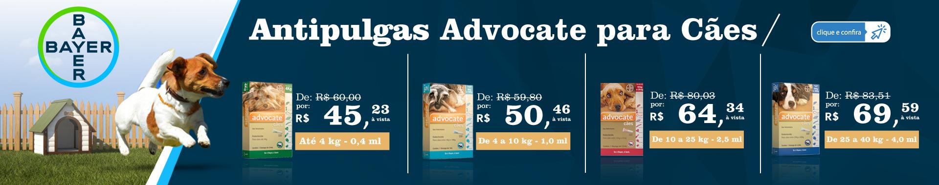 Antipulgas Advocate para Cães