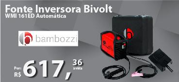 Fonte Inversora Bivolt WMI 161ED Automática Bambozzi