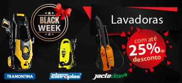 Black Week: Lavadoras Jacto, Eletroplás e Tramontina.